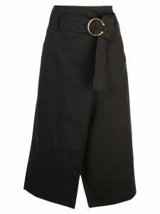 A.L.C. belted midi skirt - Black