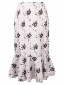 Brock Collection peplum hem skirt - Pink