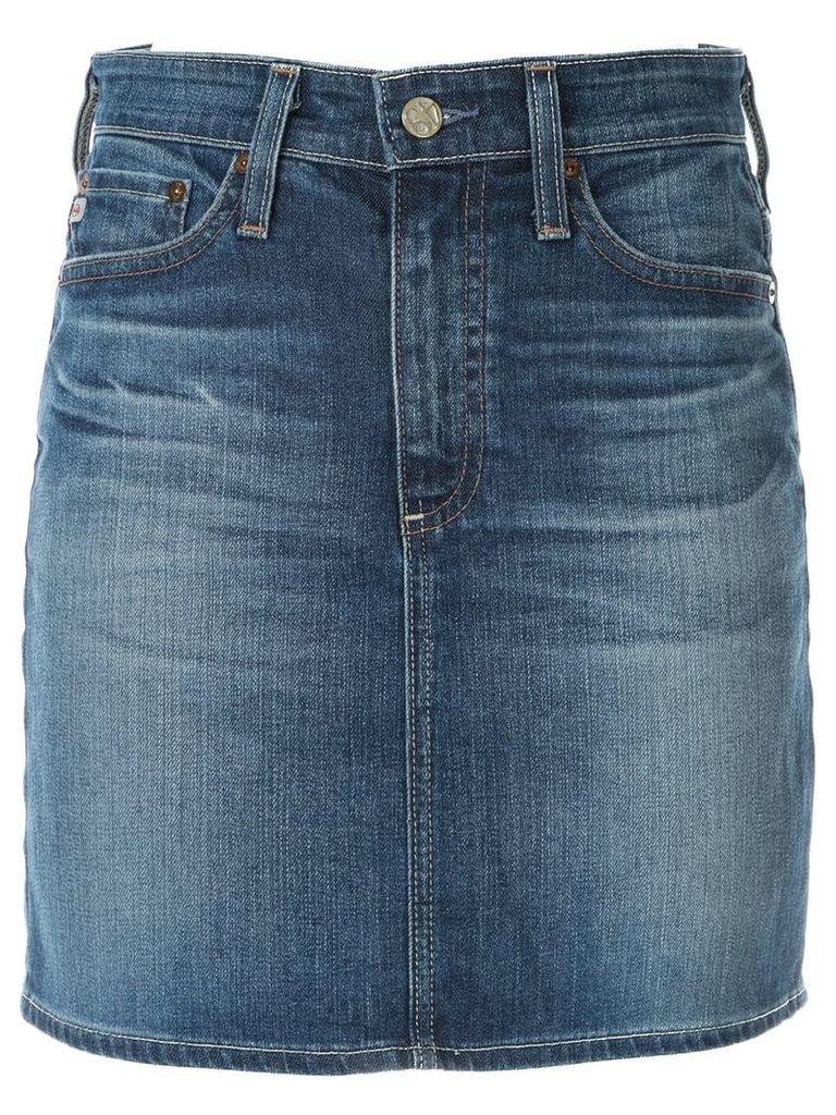 Ag Jeans The Vera denim skirt - Blue