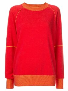 Mm6 Maison Margiela classic knit sweater - Red