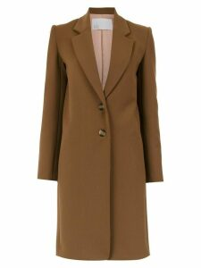 Nk buttoned trench coat - Brown