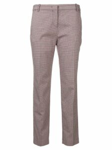 Pinko short checked trousers - Red