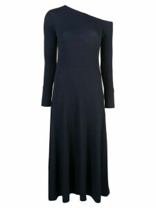 Rosetta Getty off-shoulder midi dress - Blue