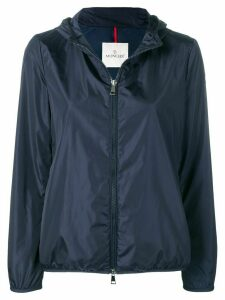 Moncler cinched raincoat - Blue