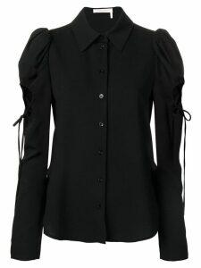 See By Chloé cut out shirt - Black