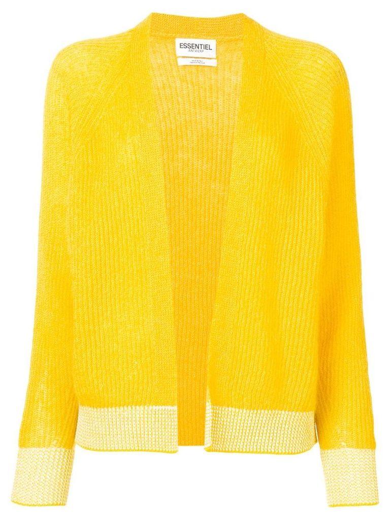 Essentiel Antwerp loose-fit cardigan - Yellow