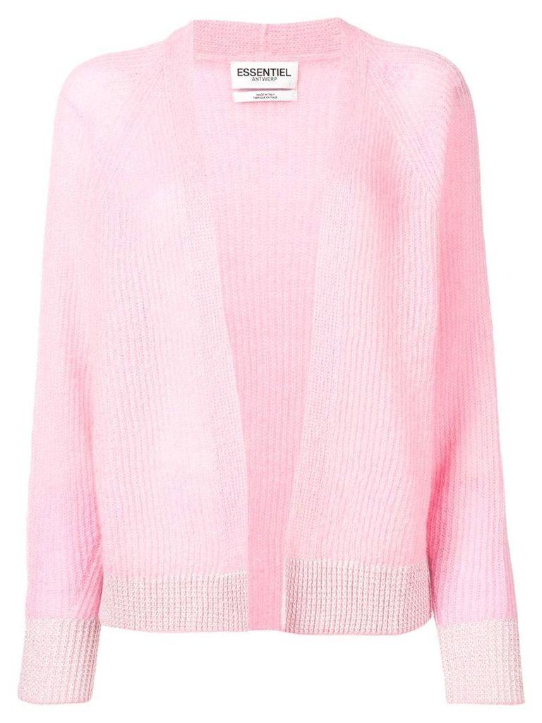 Essentiel Antwerp loose-fit cardigan - Pink