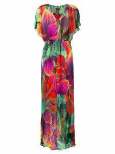 Pinko floral dress - Green