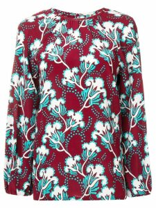 Valentino floral blouse - Red