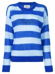 Essentiel Antwerp oversized striped jumper - Blue