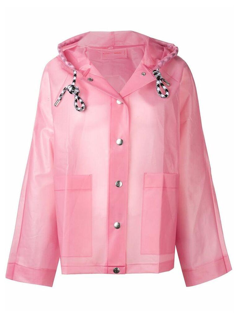 Proenza Schouler PSWL Alphabet Raincoat - Pink