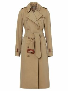 Burberry Gabardine trench coat - NEUTRALS