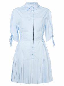 Pinko pleated shirt dress - Blue