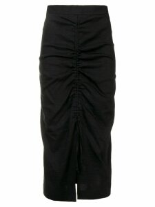 Pinko ruched skirt - Black