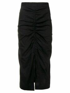 Pinko ruched skirt - Black