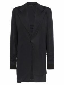 Y/Project single-breasted wool blazer - Black