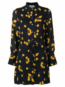3.1 Phillip Lim Cerise print shirt dress - Black