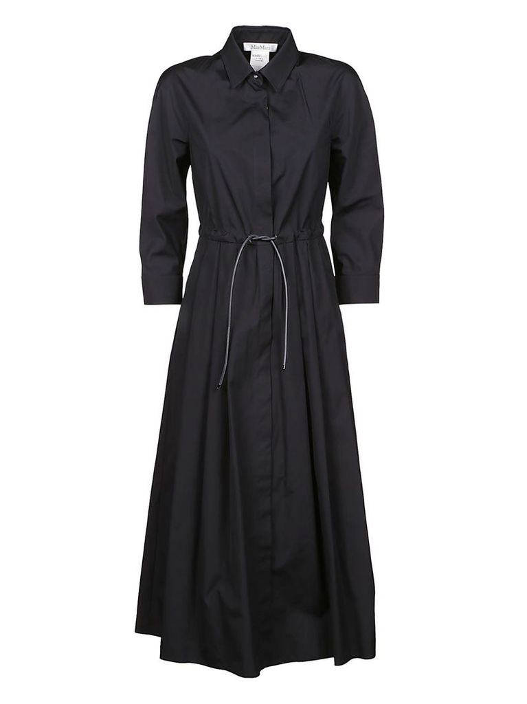 Max Mara Drawstring Waist Dress