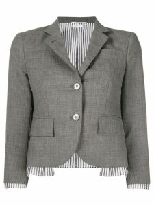 Thom Browne Drop Lining Wool Sport Coat - Grey