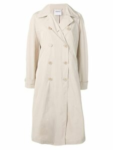 Aspesi double breasted trench coat - Neutrals