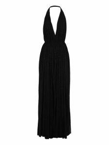 Saint Laurent Long Dress Studs