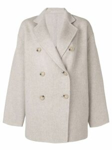 Acne Studios Double breasted coat - Neutrals