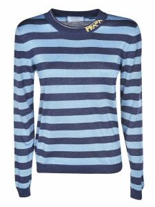 Prada Striped Logo Sweater