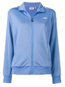Fila logo trim track jacket - Blue