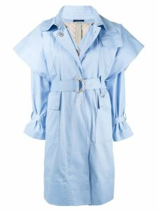 Eudon Choi Frida trench coat - Blue