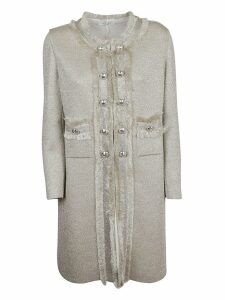Charlott Embellished Button Coat