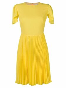 Mulberry pleated skirt dress - Yellow