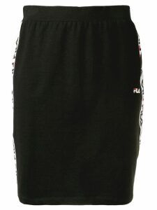 Fila logo trim skirt - Black