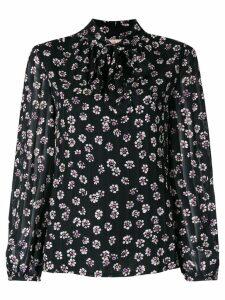 Tory Burch Emma bow blouse - Black