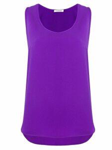 P.A.R.O.S.H. scoop neck blouse - Purple