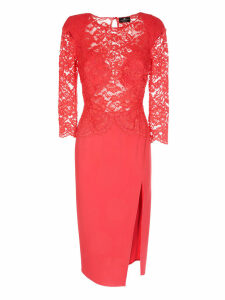 Elisabetta Franchi Celyn B. Long Lace Dress