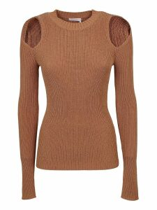 See by Chloé Cold Shoulder Sweater