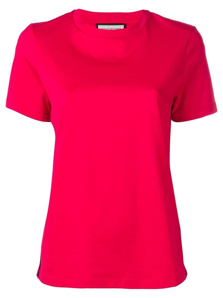 Roqa striped T-shirt - Red