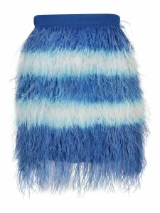 MSGM Fringed Skirt