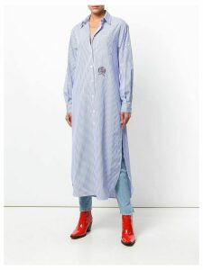 Tommy Hilfiger striped shirt dress - Blue