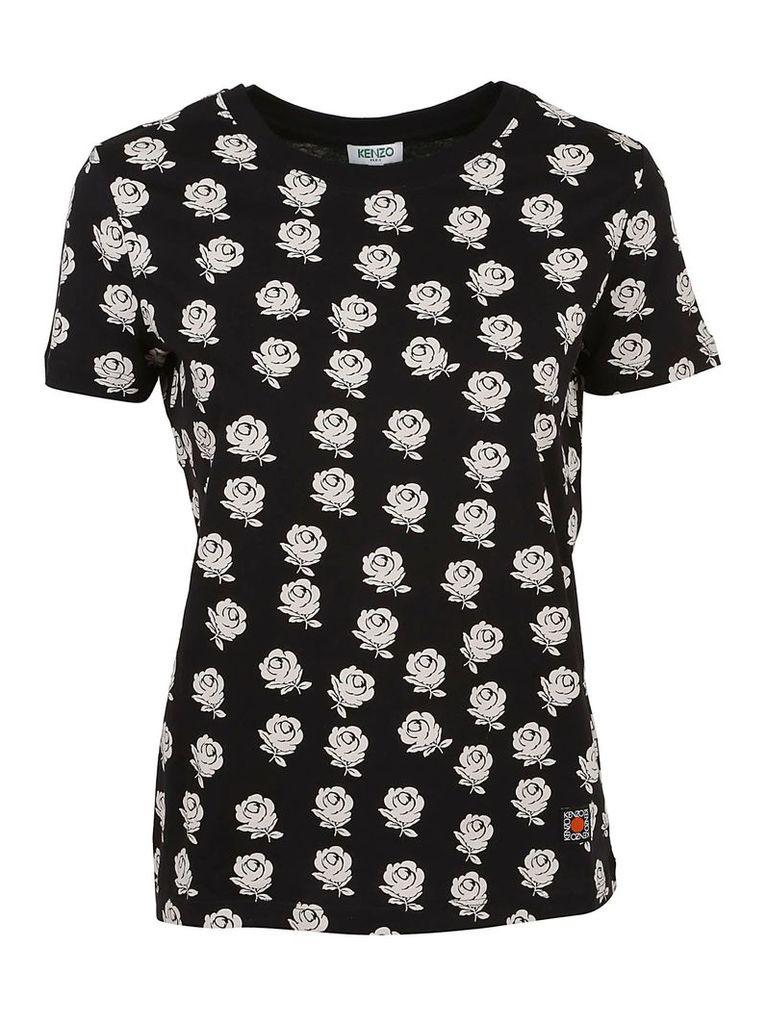 Kenzo Roses T-shirt