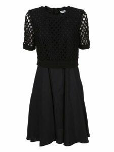 Kenzo Dual-fabric Dress