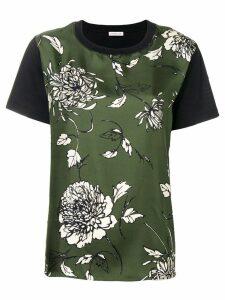 Moncler floral print T-shirt - Green