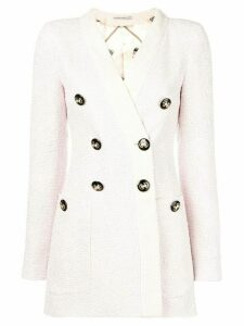 Alessandra Rich double breasted blazer - Pink