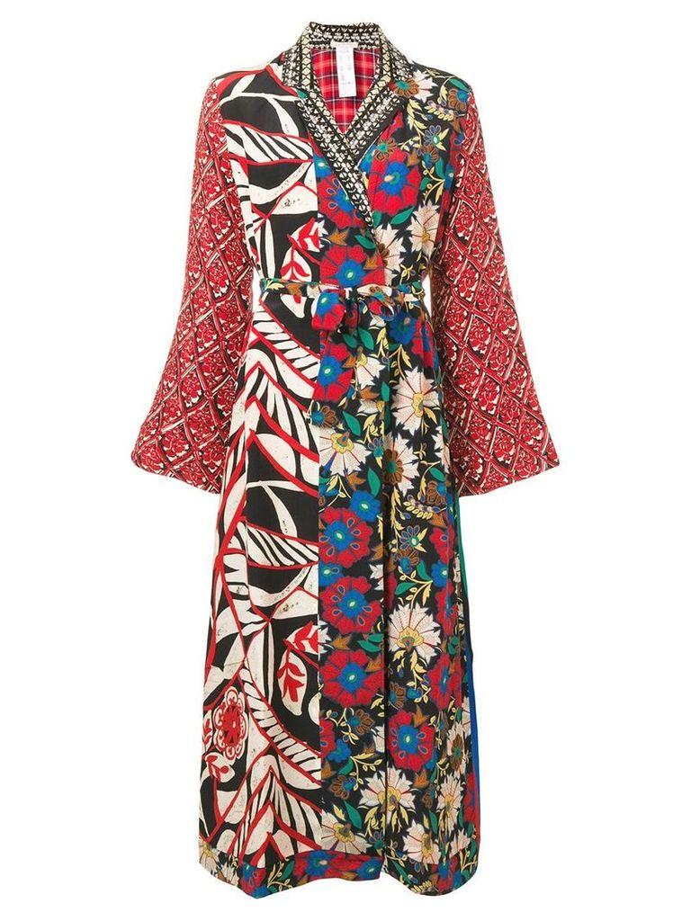 Anjuna multicoloured patch coat