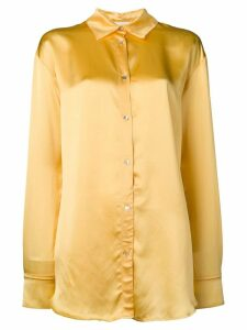 Forte Forte classic collar shirt - Yellow