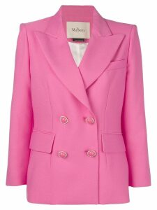 Mulberry double breasted blazer - Pink