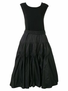Moncler taffeta dress - Black
