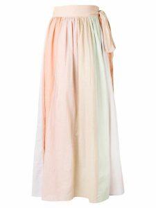 Mara Hoffman tie wrap skirt - Neutrals