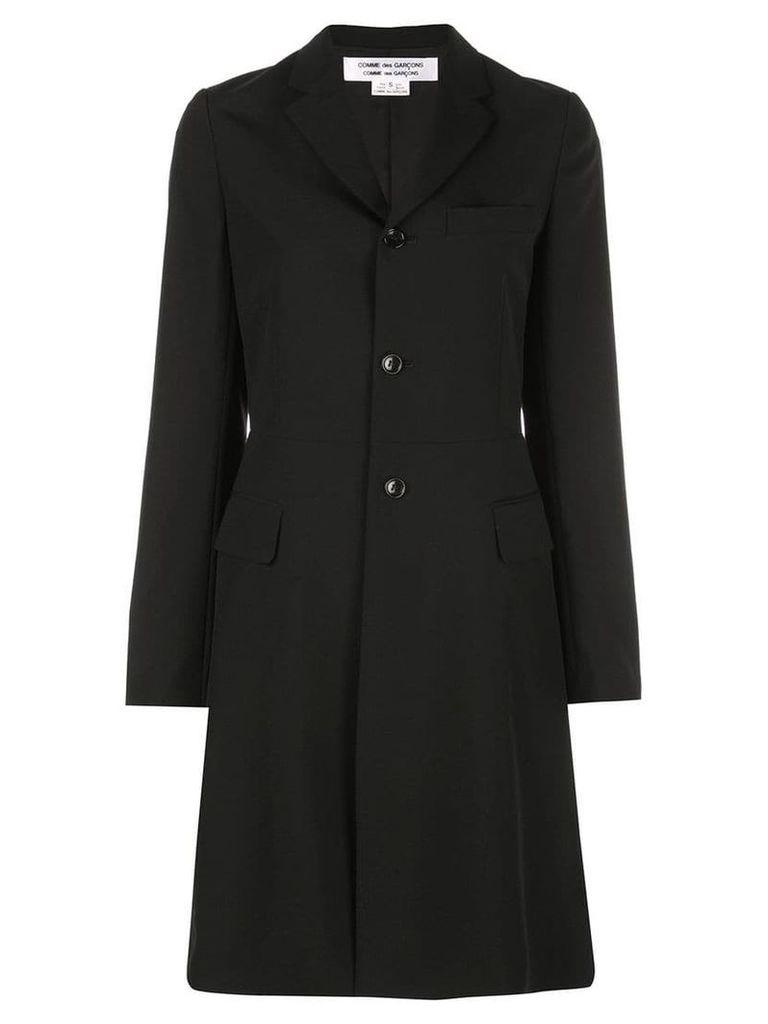 Comme Des Garçons Comme Des Garçons single-breasted tailored coat -
