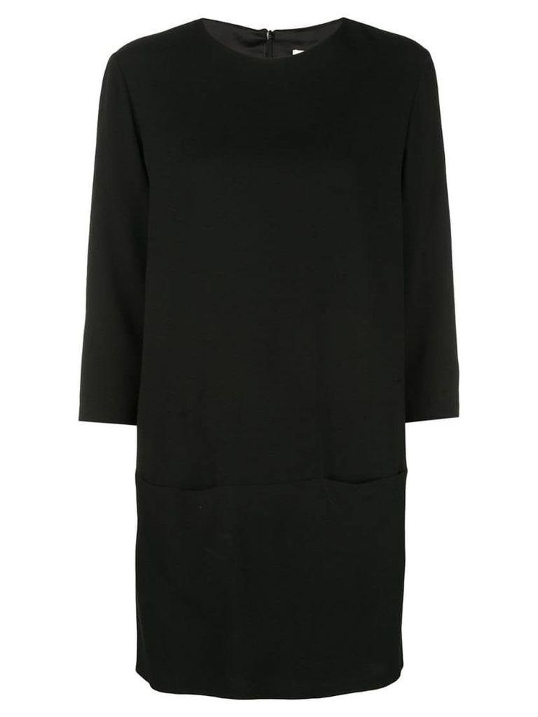 The Row round neck dress - Black